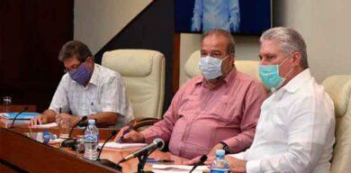 Batalla contra la COVID-19, prioridad del Gobierno cubano