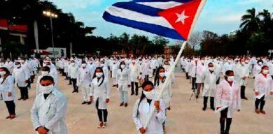 En Sudáfrica brigada médica de Cuba