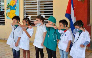 Más de 60 niños en Cuba con la COVID-19, todos con evolución satisfactoria