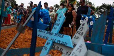 COVID-19 en el mundo: Brasil ya supera a China en el total de fallecidos y registra el mayor número de muertos por coronavirus en un día