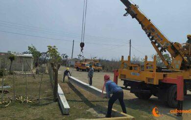 Trabaja Empresa eléctrica villaclareña en restablecimiento del servicio