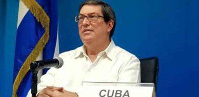 Canciller cubano rechaza la injerencia de EE. UU. en asuntos de Rusia