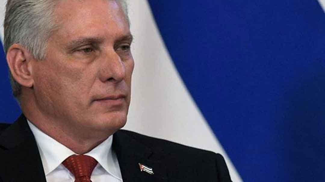 Denuncia Presidente cubano terrorismo sobre sede diplomática en el exterior