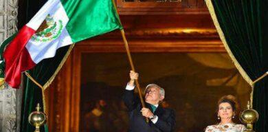 Conmemora AMLO 210 aniversario del Grito de Independencia en México marcado por la pandemia
