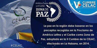 Cuba reafirma necesidad de mantener a América Latina como zona de paz