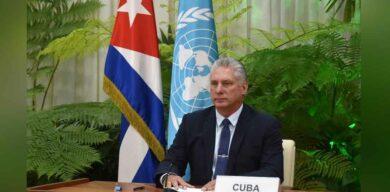Díaz-Canel en la ONU: Urge reformar la ONU, pero Cuba siempre defenderá su existencia