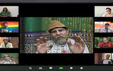 Vivir del cuento: Un ejemplo de hacer tv desde casa